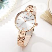 Gold Curren Real Quality Unique Women's Watch | Watches for sale in Lagos State, Surulere