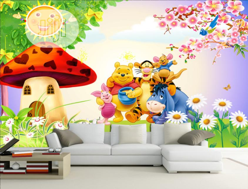 3D / 5D / 8D Photomural AKA Custom Wall Mural / Wallpaper   Home Accessories for sale in Yaba, Lagos State, Nigeria