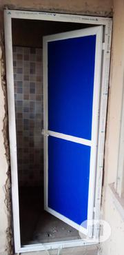 Aluminum Toilet Door | Building & Trades Services for sale in Lagos State, Lekki Phase 2