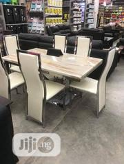 Marble Dining Table 6 Seater   Furniture for sale in Lagos State, Ojo