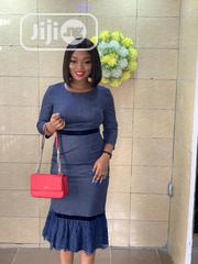 Midi Dress With Lace Details | Clothing for sale in Lagos State, Ikeja