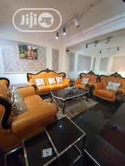 Sofa 601 With Center Table And Stools.   Furniture for sale in Lagos State, Lekki Phase 1