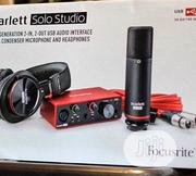 Focusrite Scarlett Solo, Full Package . | Audio & Music Equipment for sale in Abuja (FCT) State, Central Business Dis