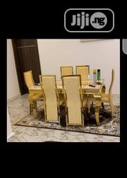 Original Gold Marble Dinning | Furniture for sale in Delta State, Aniocha South