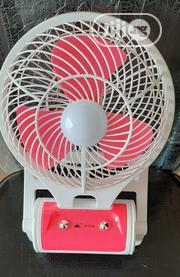 Portable LED Light With Mini Fan Jr-5588 | Home Appliances for sale in Kwara State, Ilorin East