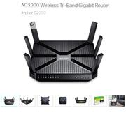 Tplink Ac 3200 Wireless Triband Gigabit Router | Networking Products for sale in Lagos State, Ikeja