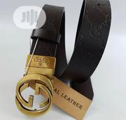 Gucci Leather Belt for Men's | Clothing Accessories for sale in Lagos State, Lagos Island
