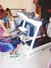 2.5hp White American Fitness Treadmill With Massager   Sports Equipment for sale in Lagos State, Surulere