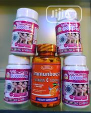 4 Gluta White and Vitamins C Tablet | Vitamins & Supplements for sale in Lagos State, Ojo