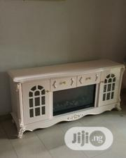 Fire Place TV Stand White | Furniture for sale in Lagos State, Ikeja
