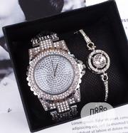 Fashion Wristwatch and Bracelet for Ladies   Jewelry for sale in Lagos State, Ikorodu