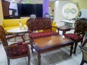 Auntic Chair By 4 With Center Table And 1side Stool | Furniture for sale in Lagos State, Ojo