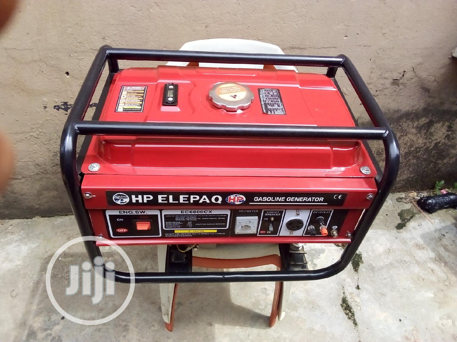 Elepaq Generator EC6800CX | Electrical Equipment for sale in Yaba, Lagos State, Nigeria