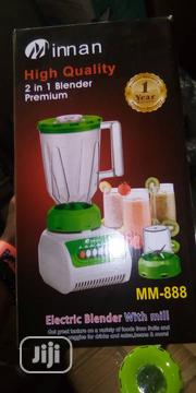 Inna High Quality 2 in One Blender | Kitchen Appliances for sale in Lagos State, Lekki Phase 2