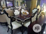 VIP Royal Wooden Dining By 6 | Furniture for sale in Lagos State, Ojo