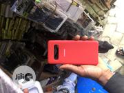 Samsung S10 Silicon Case + Free Screen Guard | Accessories for Mobile Phones & Tablets for sale in Lagos State, Surulere
