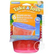 Take & Toss Bowl With Lid - Set Of 6 | Baby & Child Care for sale in Lagos State, Ikeja