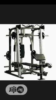 Multi Station Gym With 50kg Plate | Sports Equipment for sale in Lagos State, Surulere