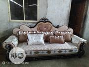 Cushion Royal Chair By7 (1+1+2+3) With Fabric Material | Furniture for sale in Lagos State, Lekki Phase 1