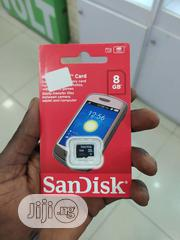 Original Sandisk Memory Card 8GB | Accessories for Mobile Phones & Tablets for sale in Lagos State, Ikeja