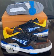 "Louis Vuitton FF-2020 Trainers Low Cut ""Brown/Yellow/Blue-white"" 