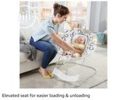 Neatly Used Fisher-price Deluxe Bouncer With Music And Vibration | Children's Gear & Safety for sale in Lagos State, Ikeja