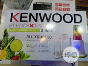 Kenwood Blender-xtract3-in-1 Nutrition Extractor   Kitchen Appliances for sale in Lagos State, Ojo