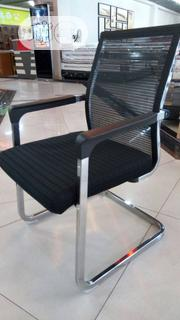 Mesh and Fabric Visitor's Chair | Furniture for sale in Lagos State, Ojo