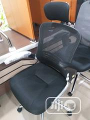 Mesh and Fabric Swival Chair With Lefting Arm | Furniture for sale in Lagos State, Ojo