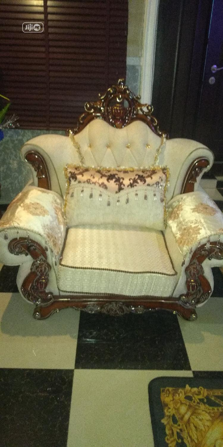 Italian Royal Sofa Chairs by 7 Seaters | Furniture for sale in Lekki Phase 1, Lagos State, Nigeria