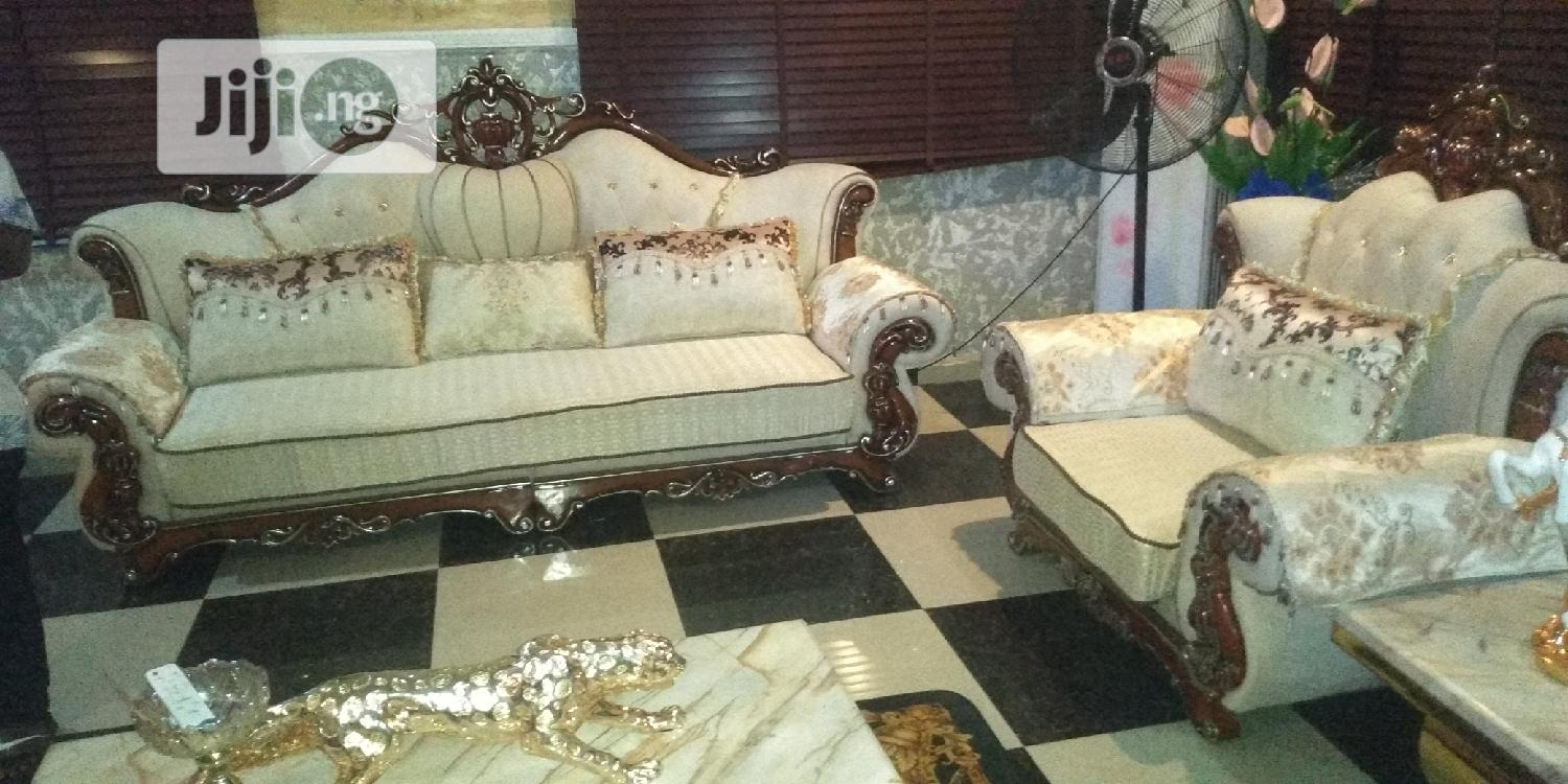 Italian Royal Sofa Chairs By 7 Seaters | Furniture for sale in Ojo, Lagos State, Nigeria