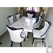 High Quality Executive Marble Dining Table With Six Chairs | Furniture for sale in Lagos State, Ikeja