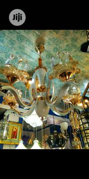 Gold Glass Chandelier | Home Accessories for sale in Lagos State, Ojo