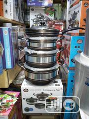 Complete Set Of Non-stick Pot With A Free Gift Of Wooden Spoons   Kitchen & Dining for sale in Abuja (FCT) State, Wuse