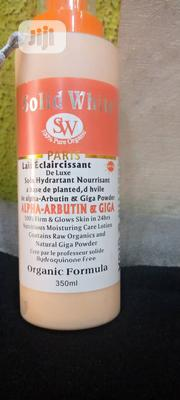 Solid White Alpha Arbutin With Giga White Whitening Body Lotion   Skin Care for sale in Lagos State, Ojo