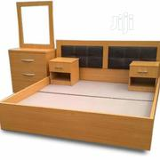 BED FRAME Executive 6'×6' Feet | Furniture for sale in Lagos State, Maryland