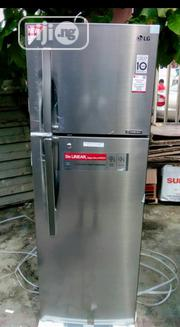 LG 222L Inverter Double Door Refrigerator Smart Voltage Fast Cool | Kitchen Appliances for sale in Lagos State, Ojo