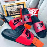 Nike Benassie Slides Red | Shoes for sale in Lagos State, Lagos Island