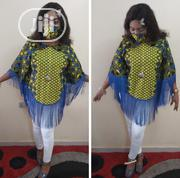 Muna Fringe Top With Free Facemask   Clothing for sale in Abuja (FCT) State, Gwarinpa