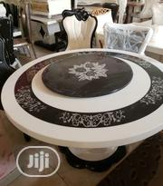 New Turkey Round Six Seater Marble Dining Table | Furniture for sale in Lagos State, Ikeja
