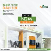 Land for Sale at Wazobia Garden Ocean View | Land & Plots For Sale for sale in Lagos State, Ibeju