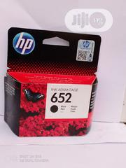 Original Hp Important 652 Black Ink Cartridges | Accessories & Supplies for Electronics for sale in Abuja (FCT) State, Central Business Dis