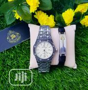 Quality Male Wristwatch And Leather Bracelet | Jewelry for sale in Lagos State, Ajah