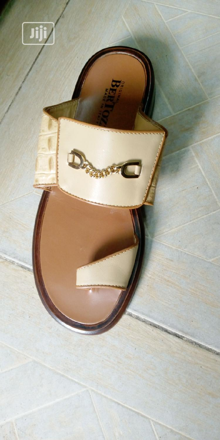 Quality Italian Bertozzi Slippers Sizes From:45: | Shoes for sale in Lagos Island, Lagos State, Nigeria