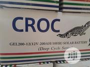 12v 200ah Crock Battery Available | Solar Energy for sale in Lagos State, Ojo