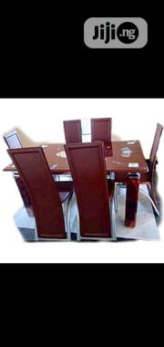 Padded Dining Table by Six | Furniture for sale in Lagos State, Ikoyi