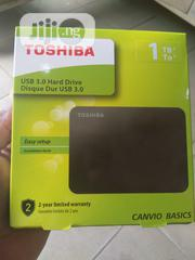 1tb Toshiba External Hard Drive | Computer Hardware for sale in Lagos State, Ikeja
