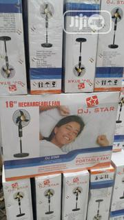 "16"" OJ STAR Rechargeable Fan 