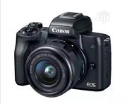 Canon EOS M50 With 15-45mm Lens | Photo & Video Cameras for sale in Lagos State, Lagos Island