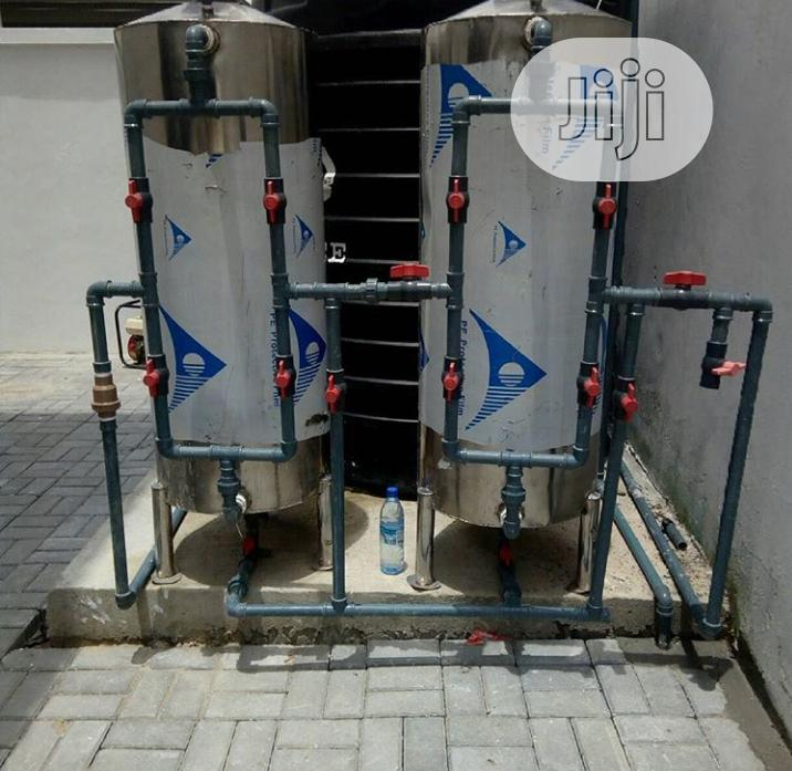 Stainless Water Treatment Plant